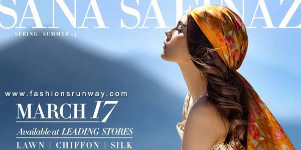 Sana Safinaz Summer Lawn 2014 Collection Pictures