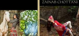 Zainab Chottani Shariq Textiles Collection 2014-15