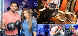 Boxer Amir Khan Launched Pepe Jeans Collection