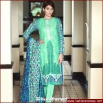 Gul Ahmed Midsummer Cambric Embroidered Collection 2015