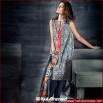 Gul Ahmed Midsummer Cambric Embroidered Dresses