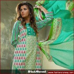 Gul Ahmed Three Piece Cambric Collection