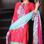 Gul Ahmed Latest Winter Dresses 2015-16 for Women