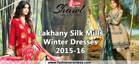 Lakhany Silk Mills Winter Dresses 2015-16