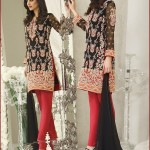 Asim Jofa Embroidered Chiffon Dresses 2016 Catalog