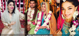 Celebrity Sanam Jung Wedding Pics