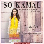 So Kamal Spring Summer Digital Embroidered 2016 Dresses