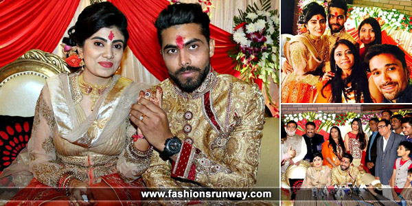 Indian Cricketer Ravindra Jadeja Engagement Photo
