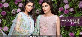 Khaadi New Unstitch Lawn 2016 Dresses Designs