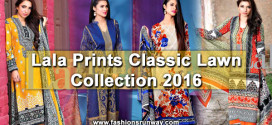 Lala Classic Lawn Collection 2016 with Prices