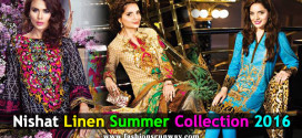 Nishat Linen New Summer Lawn 2016 Women Dresses
