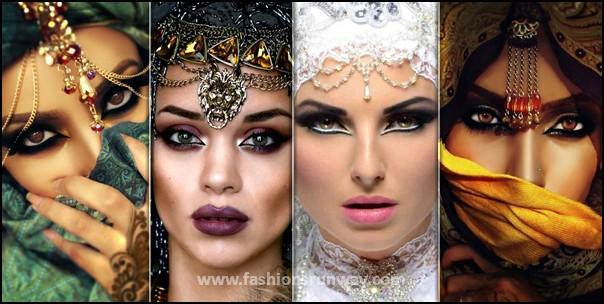 Arabic Eye Makeup Pictures 2016