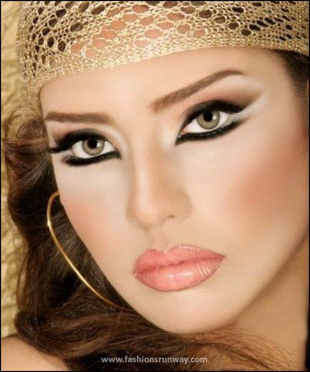 Arabian Makeup Style 2016 Pictures