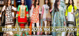 House of Ittehad Lawn Collection 2016 Volume 2