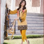 IVY 3 Piece Embroidered Lawn Dresses 2016