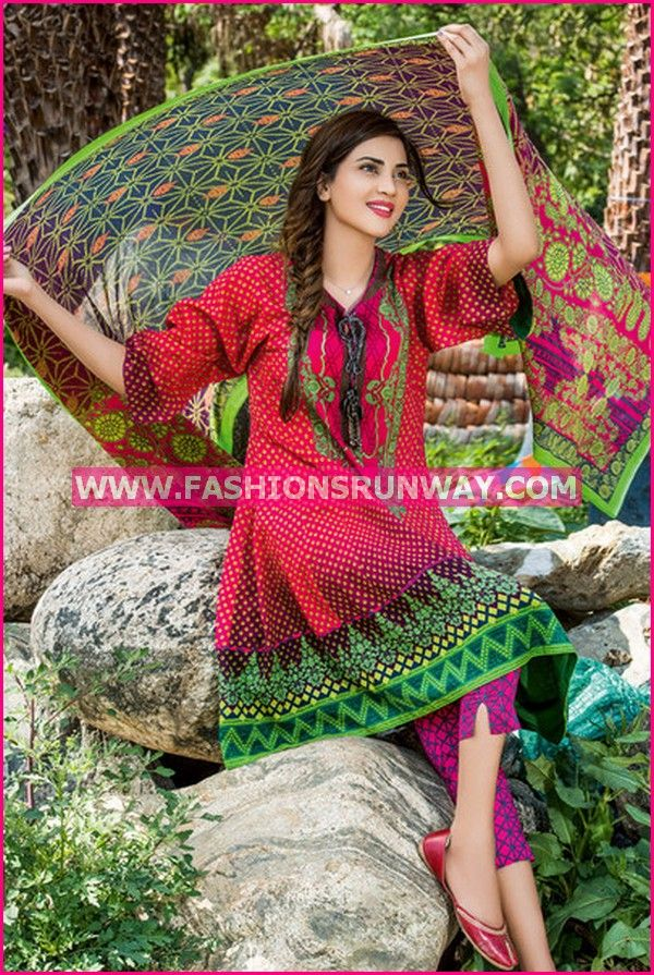 Ideas by Gul Ahmed Lawn Dresses 2016 Vol 2