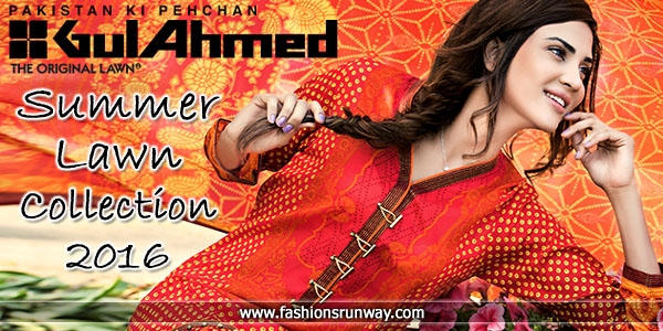Gul Ahmed Lawn Collection 2016 Volume 2 Catalog