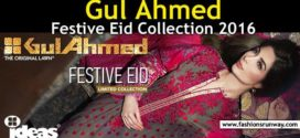 Gul Ahmed Eid Collection 2016 for Women