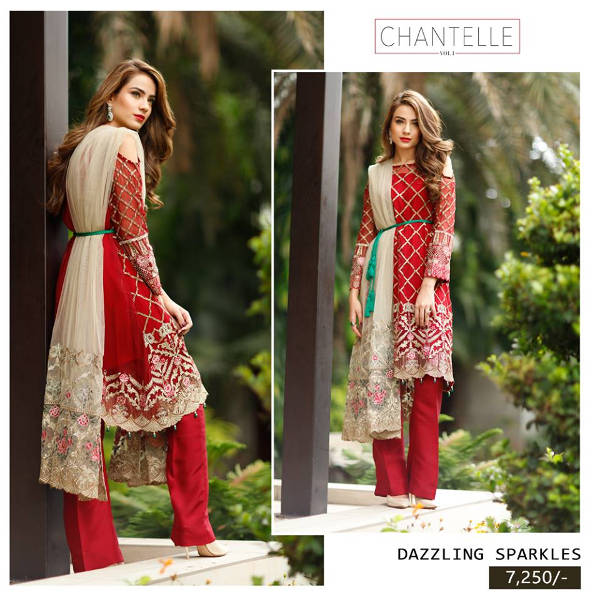 Dazzling Sparkles Baroque Chantelle Collection 2016