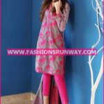 Gul Ahmed Midsummer 2016 GRAY EMBROIDERED CAMBRIC CBE-15