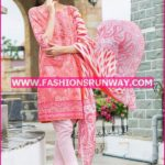 Gul Ahmed Midsummer 2016 RED PRINTED CAMBRIC CBN-13 A