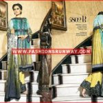 house of ittehad fall winter dresses 2016 design 5807