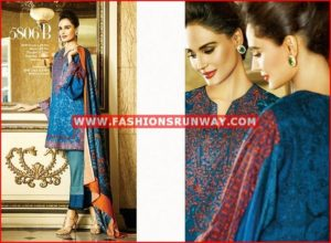 house of ittehad fall winter dresses 2016 design 5808