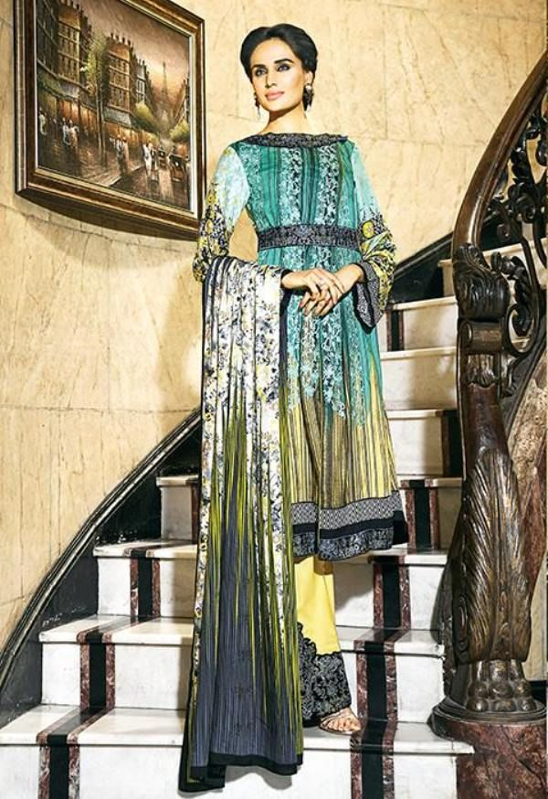 Ittehad Textile Fall Winter Dresses 2016-17 for Women