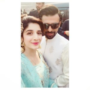 Mawra with farhan saeed